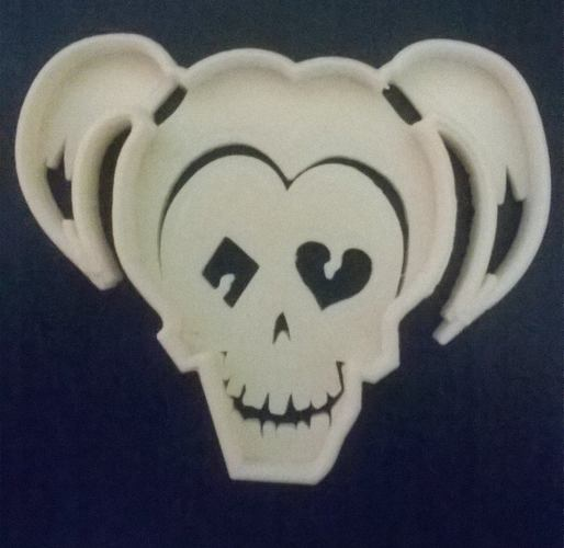 harley quinn suicide squad cookie cutter 3D Print 141716