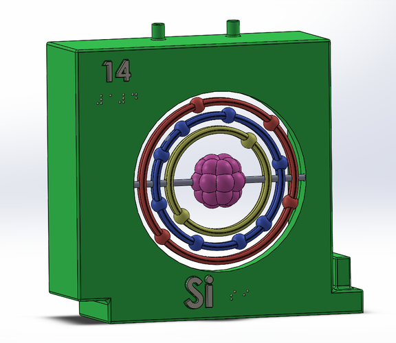 SI Element_ Periodic Table 3D Print 141759