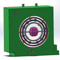 Small SI Element_ Periodic Table 3D Printing 141759