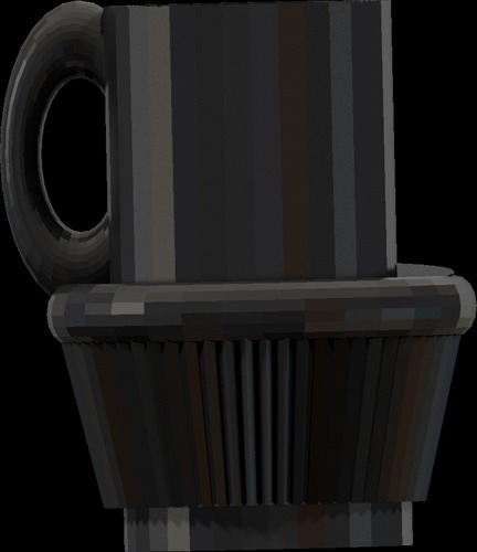 fullsized coffee cup cake cup all files 3D Print 14179