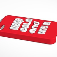Small keep calm and carry on iphone 4 case 3D Printing 14180