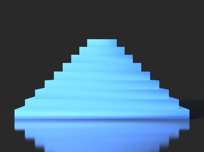 Color Test Pyramid  3D Print 141836