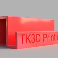 Small Sleek Business Card Holder 3D Printing 141848