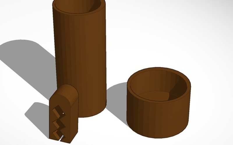 coffee canister and coffee bag clip 3D Print 14187
