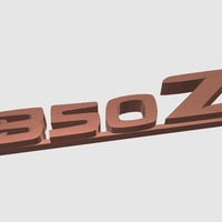 Small Nissan 350Z keychain 3D Printing 141917