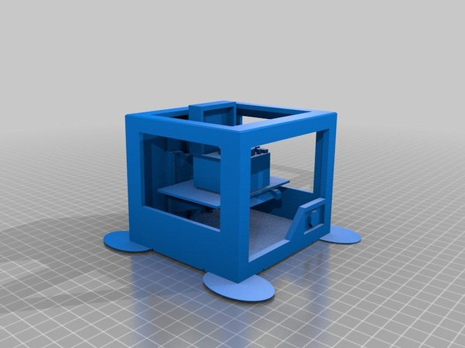 3d printer printing record player in full  colour x3d and wrl co 3D Print 14192