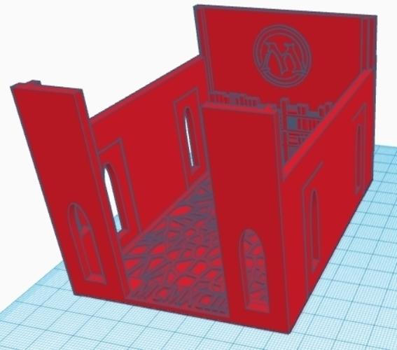3D Printed MTG Commander/EDH Deck Box By Drcameron