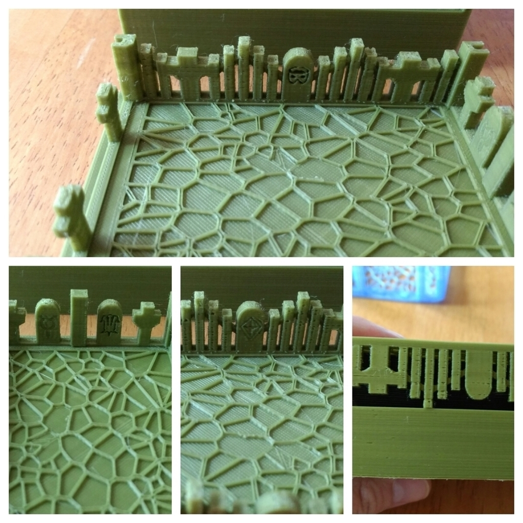 photograph relating to Printable Mtg Tokens named 3D Revealed MTG Deck Box Library and Graveyard by way of drcameron