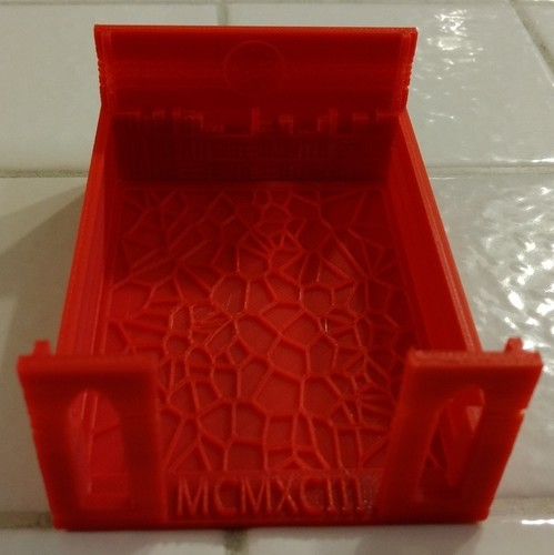 MTG Deck Box Library and Graveyard 3D Print 141993