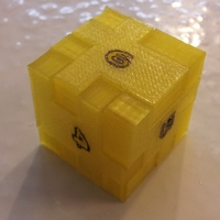 Small Dice Cube Puzzle 3D Printing 141994