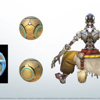 Small Overwatch Zenyatta's Floating Ball 3D Printing 142006