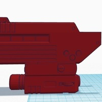 Small ODST front for Halo magnum 3D Printing 142140