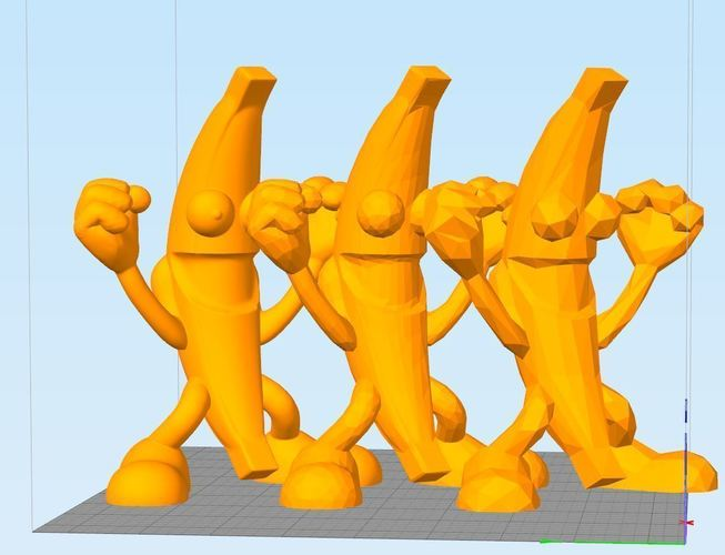 NANNER the Banana #PBJT Peanut Butter Jelly Time!  3D Print 142173