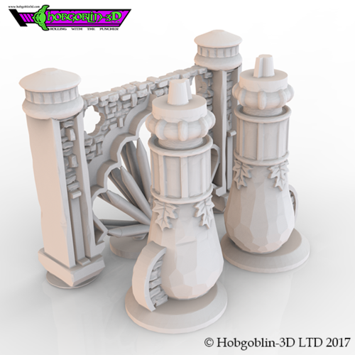 HG3D Indian Archway - 28mm 3D Print 142244