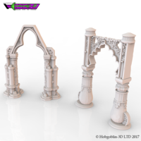 Small HG3D Freemasons Archs Kit 3D Printing 142254