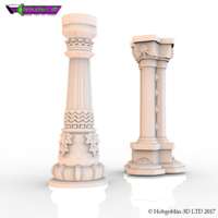 Small HG3D Freemasons Pillar Kit - 28mm 3D Printing 142260