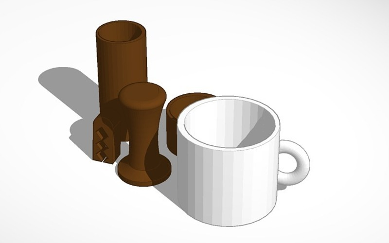 coffee set 2 3D Print 14227