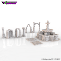 Small HG3D Freemasons Deluxe Bundle  3D Printing 142275