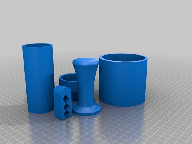 coffee set 2 3D Print 14228
