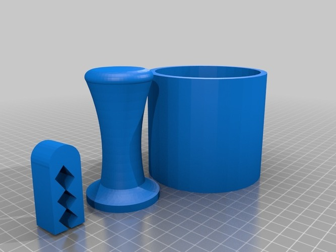 printable coffee set  3D Print 14232