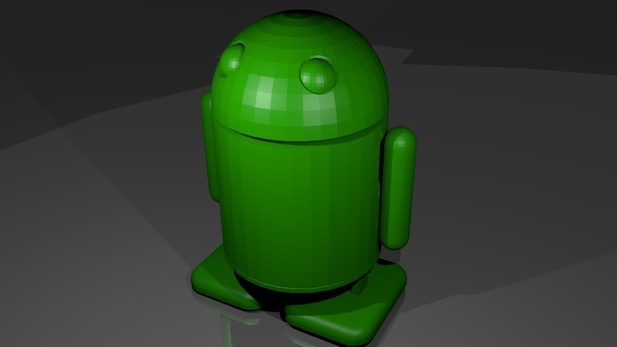 Android robot  3D Print 142357