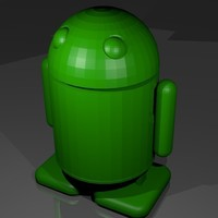 Small Android robot  3D Printing 142357