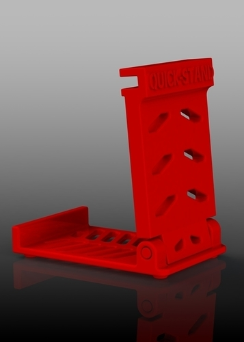 Quick-Stand Phone Stand - Portable 3D Print 142410