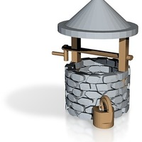 Small wishing well more printable less thin walls  3D Printing 14242
