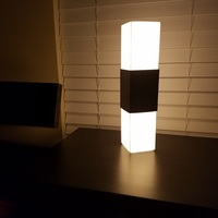 Small Square Lamp 3D Printing 142474