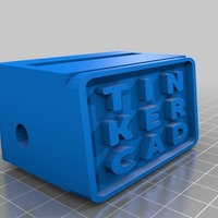 Small tinkercad iphone speaker for plastics 3D Printing 14251