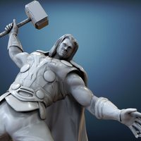 Small Avenger Scene – THOR Son of Asgard 3D Printable Model 3D Printing 142555