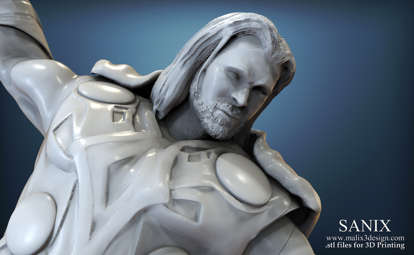 Avenger Scene – THOR Son of Asgard 3D Printable Model 3D Print 142557