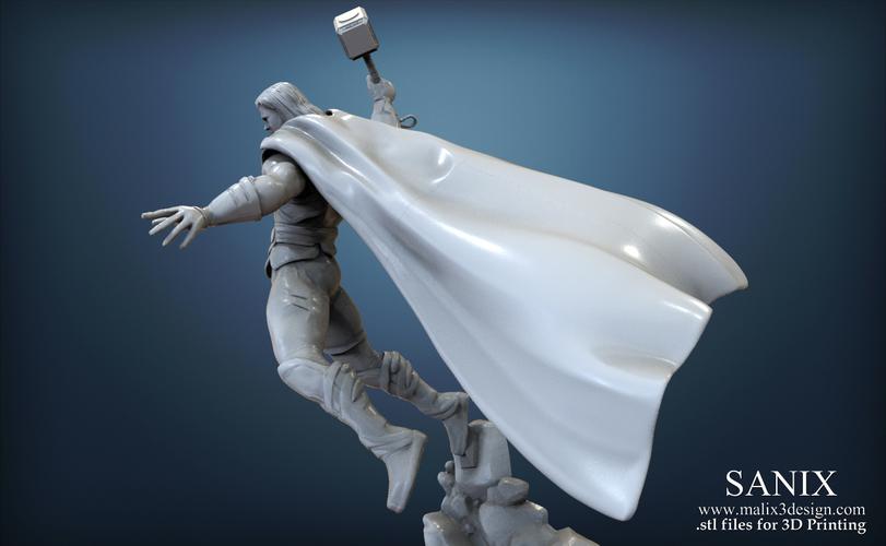 Avenger Scene – THOR Son of Asgard 3D Printable Model 3D Print 142558