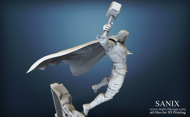 Avenger Scene – THOR Son of Asgard 3D Printable Model 3D Print 142559