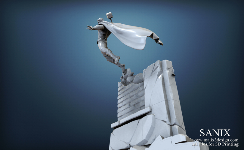 Avenger Scene – THOR Son of Asgard 3D Printable Model 3D Print 142560