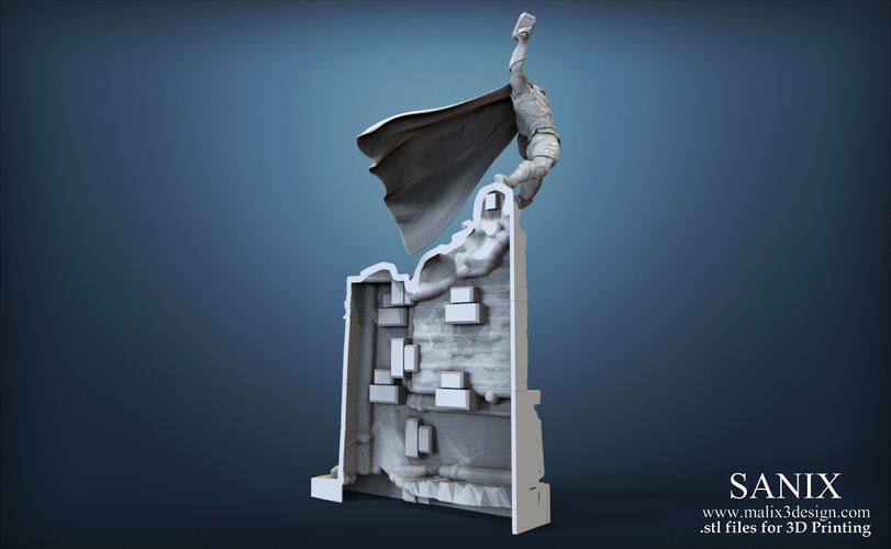 Avenger Scene – THOR Son of Asgard 3D Printable Model 3D Print 142566