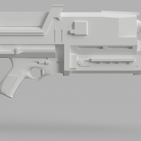 Small Phased Plasma Rifle in the 40 Watt Range (Terminator) 3D Printing 142648
