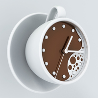 Small clock-coffee 3D Printing 142764