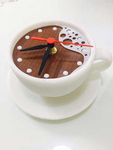 clock-coffee 3D Print 142767
