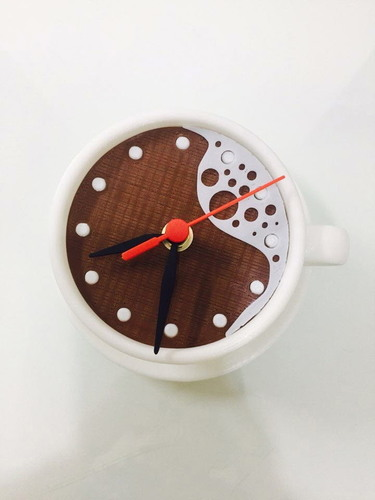 clock-coffee 3D Print 142768