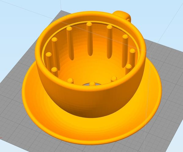 clock-coffee 3D Print 142792