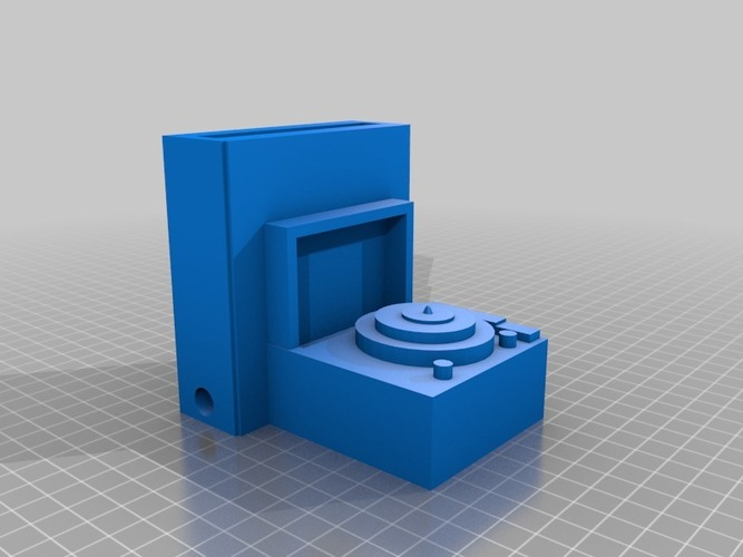 record player iphone speaker 3D Print 14292