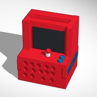 Small Computer arcade iphone speaker printable in anything 3D Printing 14293