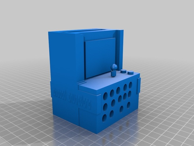 Computer arcade iphone speaker printable in anything 3D Print 14294