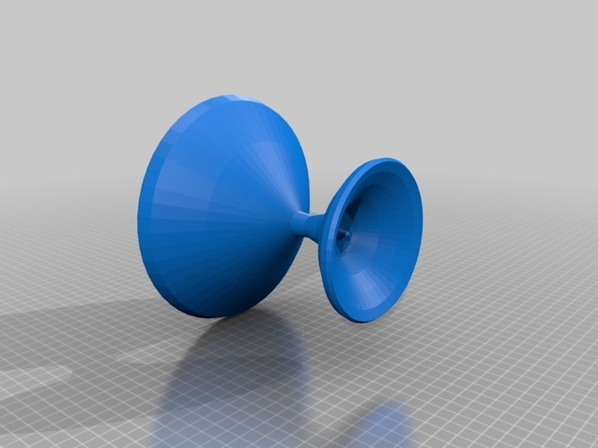 blue bird bird bath 3D Print 14296