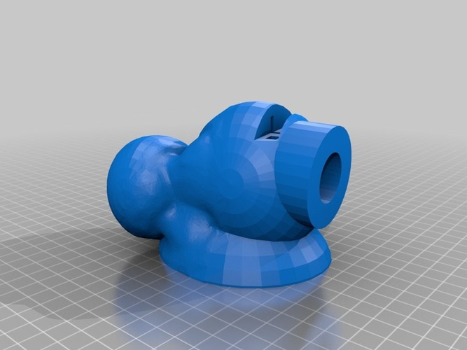 smoothed out with mesh mixer reddie void speaker booster for Iph 3D Print 14306