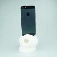 Small Reddie Music Iphone Speaker booster 3D Printing 14308