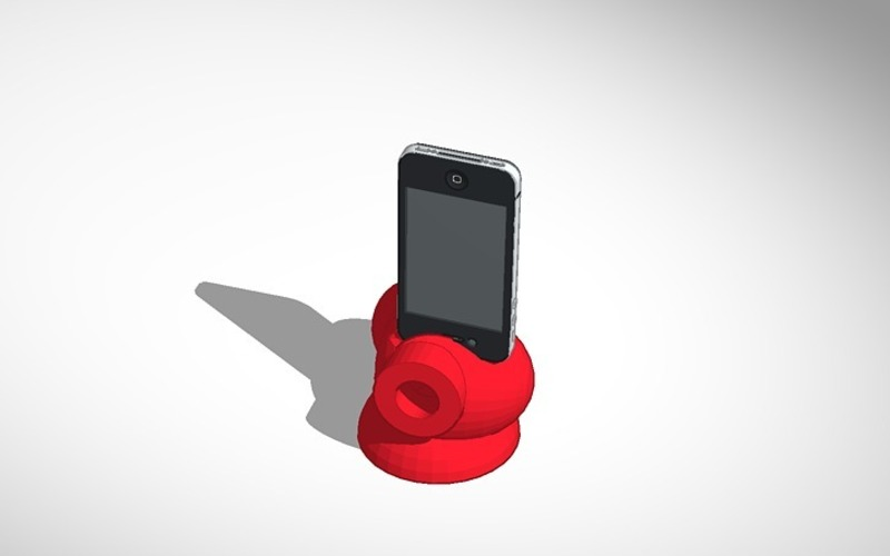 Reddie Music Iphone Speaker booster 3D Print 14309