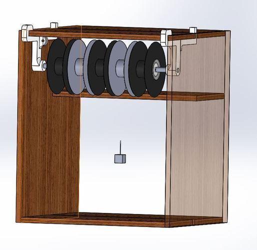 3d printed porta rollos para mueble billy ikea by juantrillo pinshape - Rollos adhesivos para muebles ...