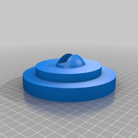 Small meditation pond iphone  void speaker 3D Printing 14314
